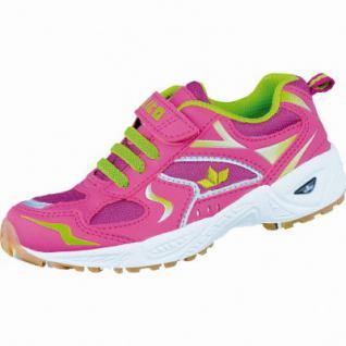 Lico Bob VS modische Mädchen Nylon Sportschuhe pink/lila/lemon, Textilfutter, herausnehmbares Fußbett, 4236118/38