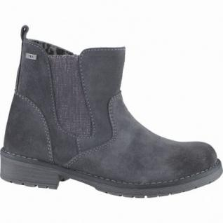 Lurchi Luana Mädchen Winter Leder Tex Boots charcoal, Warmfutter, warmes Fußbett, mittlere Weite, 3739130