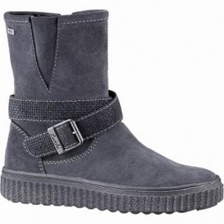 Lurchi Nelly Mädchen Leder Tex Stiefel charcoal, mittlere Weite, Warmfutter, warmes Fußbett, 3741181/35