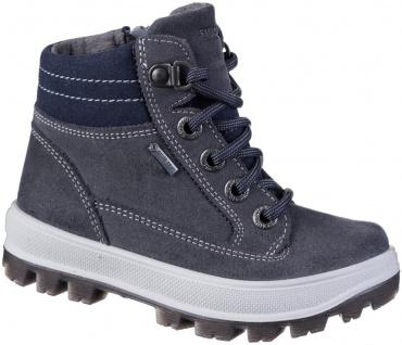 SUPERFIT Jungen Winter Leder Tex Boots grau, mittlere Weite, molliges Warmfutter