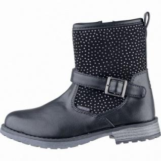 Lico Ria Mädchen Winter Synthetik Tex Boots schwarz, Warmfutter, warme Einlegesohle, 3739154/39