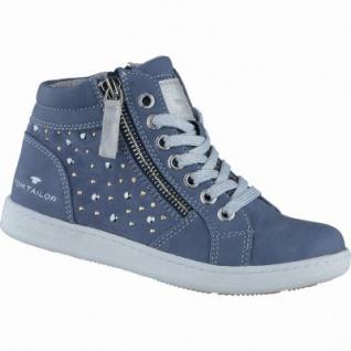 TOM TAILOR modische Mädchen Synthetik Sneakers sky, TOM TAILOR Laufsohle, 3338137/39