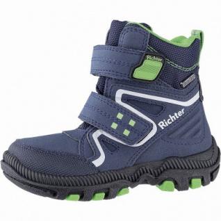 Richter Jungen Winter Tex Boots atlantic, mittlere Weite, molliges Warmfutter, warmes Fußbett, 3741235/35