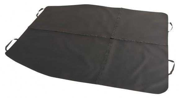 Polyester Auto Multi Funktions Decke schwarz 4-teilig mit Klett, 16 verschied...