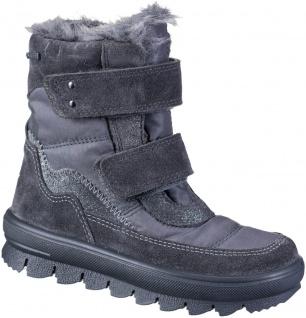 SUPERFIT Mädchen Winter Tex Boots grau, mittlere Weite, molliges Warmfutter