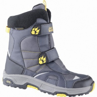 Jack Wolfskin Boys Polar Bear Texapore Jungen Synthetik Snow Boots burly, molliges Wamfutter, bis -20 Grad, 4541112/35