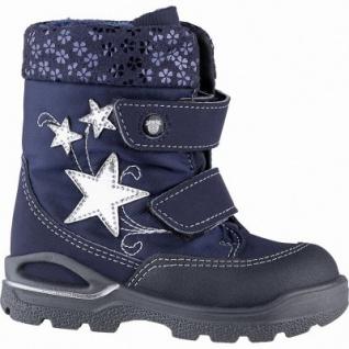Pepino Finja Mädchen Synthetik Winter Tex Boots nautic, molliges Lammwollfutter, warmes Fußbett, mittlere Weite, 3241144/24