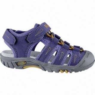 Richter sportliche Jungen Synthetik Trekking Sandalen atlantic, weiches Leder Fußbett, 3540157