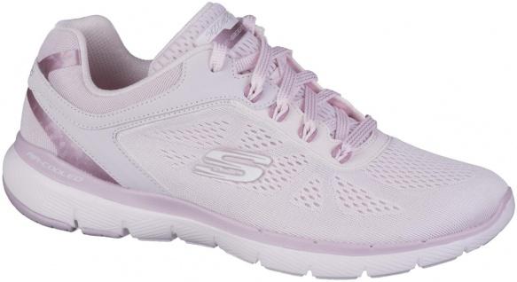 SKECHERS Flex Appeal 3.0 Moving Fast Damen Mesh Sportschuhe pink, Meshfutter,...
