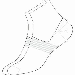 Camano Basic NOS Invisible white, 2er Pack Damen, Herren unsichtbare Sneaker ...