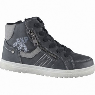 Indigo Jungen Synthetik Winter Boots black, Warmfutter, warmes Fußbett, 3739168/33