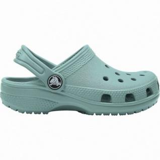 Crocs Classic Clog Kids Mädchen, Jungen Crocs tropical teal, Massage-Fußbett, Belüftungsöffnungen, 4340117/23-24