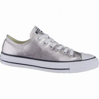 Converse CTAS Chuck Taylor All Star coole Damen Metallic Canvas Sneakers Low rose quartz, Textilfutter, 1239111/36.5