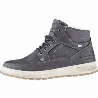 TOM TAILOR sportliche Herren Leder Imitat Winter Tex Boots coal, 10 cm Schaft, Warmfutter, warmes Fußbett, 2541112/42
