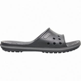 Crocs Crocband II Slide ultraleichte Damen, Herren Pantoletten black, Croslite Foam-Fußbett, weiche Laufsohle, 4340114/46-47