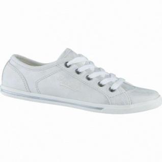 Dockers coole Damen Synthetik Sneakers silber, Dockers-Laufsohle, 1238192/37