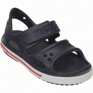 Crocs Crocband II Sandal PS Jungen Crocs Sandalen navy, verstellbarer Klettverschluss, 4338120/27-28 - Vorschau 2
