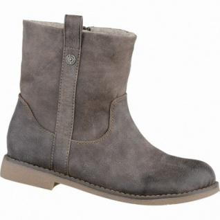 s.Oliver modische Damen Leder-Imitat Winter Boots pepper, molliges Warmfutter, gepolsterte Soft-Foam-Decksohle, 1637186/37