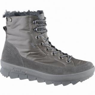 Legero superwarme Damen Komfort Leder/Textil Stiefel stone mit Goretex, Warmfutter, warmes Fußbett, Weite G, 4539105