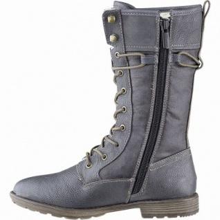 Mustang Mädchen Synthetik Winter Stiefel graphit, 22 cm Schaft, Warmfutter, warme Decksohle, 3741167/39 - Vorschau 2