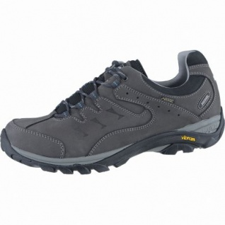 Meindl Caracas GTX Herren Leder Outdoor Schuhe anthrazit, Air-Active-Fußbett, 4438169/9.0