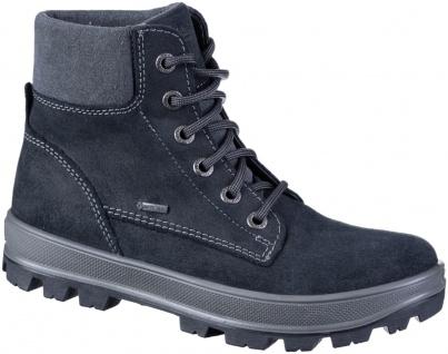 SUPERFIT Jungen Winter Leder Boots schwarz, Goretex Ausstattung, mittlere Wei...