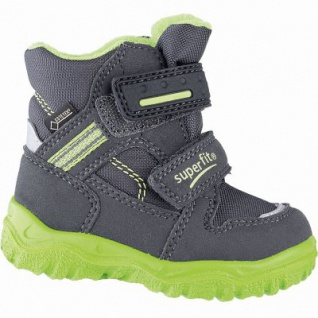 Superfit Jungen Winter Synthetik Tex Boots grau, mittlere Weite, molliges Warmfutter, warmes Fußbett, 3241106/28