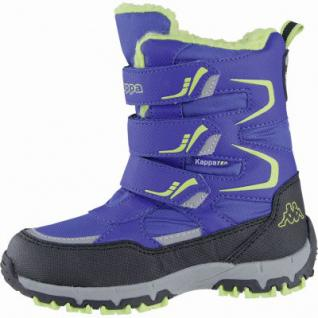 Kapppa Great Tex coole Mädchen Synthetik Winter Tex Boots blue, Warmfutter, Profil Laufsohle, 3739106