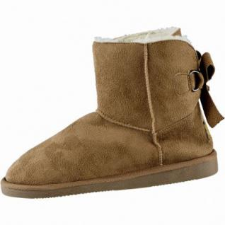 Canadians coole Damen Winter Synthetik Boots chestnut, molliges Warmfutter, warme Decksohle, 1639196/41