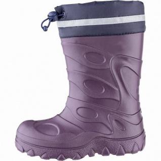 Beck Basic Mädchen Winter Thermo Boots lila aus EVA, wasserdicht, molliges Warmfutter, bis -30 Grad, 4541113