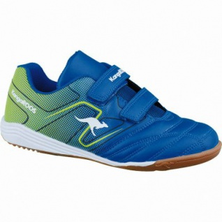 Kangaroos K-Lab Jungen Synthetik Turnschuhe mid blue, weiches Fußbett, 4037104/37