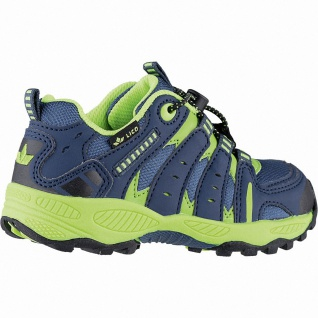 Lico Fremont Jungen Nylon Trekking Schuhe petrol, Textilfutter, auswechselbar... - Vorschau 4