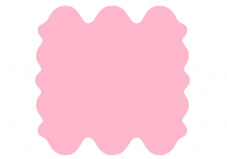 exklusive Lammfell Fellteppiche rosa gefärbt, 6 Einzelfelle, waschbar, Haarlä...