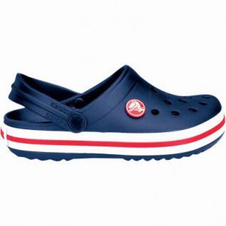 Crocs Crocband Kids Mädchen, Jungen Crocs navy, verstellbarer Fersenriemen, 4338122/32-33