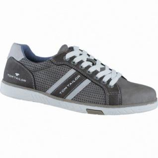 TOM TAILOR sportliche Herren Synthetik Sneakers lava, TOM-TAILOR Laufsohle, 2138129/42