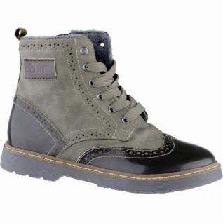 s.Oliver coole Mädchen Synthetik Winter Boots khaki, Warmfutter, Soft-Foam-Fußbett, 3739224