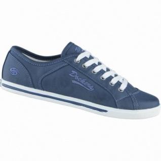 Dockers coole Mädchen Synthetik Sneakers navy, Dockers Laufsohle, 3338131