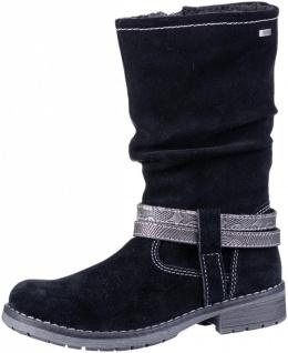 LURCHI Lia Mädchen Winter Leder Stiefel black, mittlere Weite, Tex Ausstattung