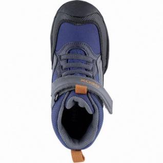 Geox Jungen Synthetik Winter Amphibiox Boots blue, 7 cm Schaft, Warmfutter, Geox Fußbett, 3741118/35 - Vorschau 2