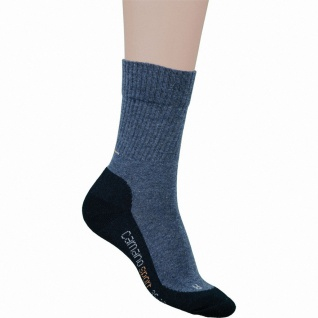 Camano Children Sport Socks NOS blau, 2er Pack Socken, Komfortbund ohne Gummi...