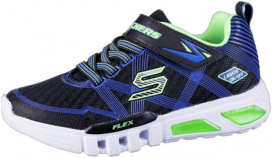 SKECHERS Flex-Glow Jungen Mesh Sneakers black, Skechers Laufsohle, Skechers F...