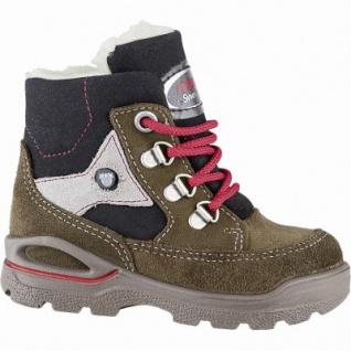 Pepino Mike warme Jungen Leder Tex Boots hazel, Lammwollfutter, warmes Fußbett, mittlere Weite, 3241141/21