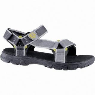 Jack Wolfskin Seven Seas 2 Sandal B leichte Jungen Outdoor Polyester Sandalen burly yellow XT, Neoprenpolster-Pads, 3540161/39