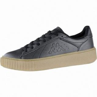 Kappa Meseta PF RB coole Damen Synthetik Sneakers black, angesagte Plateau Laufsohle, 4240115/37