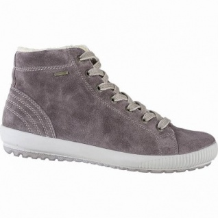 Legero softe Damen Leder Boots dark clay, 10 cm Schaft, Warmfutter, warmes Fußbett, Gore Tex, Comfort Weite G, 1741131/5.0