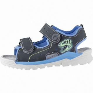 Ricosta Surf coole Jungen Synthetik Sandalen grigio, mittlere Weite, weiches Leder Fußbett, 3542161/25