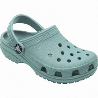 Crocs Classic Clog Kids Mädchen, Jungen Crocs tropical teal, Massage-Fußbett, Belüftungsöffnungen, 4340117/25-26 - Vorschau 2