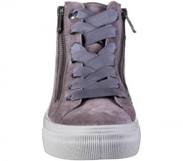 LEGERO Damen Leder Sneakers dark clay, Comfort Weite G, Textilfutter - Vorschau 4