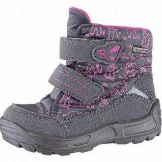 Richter Mädchen Tex Boots ash, mittlere Weite, molliges Warmfutter, warmes Fußbett, 3241130/26