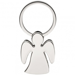 Schlüsselanänger Engel Schutzengel aus Messing